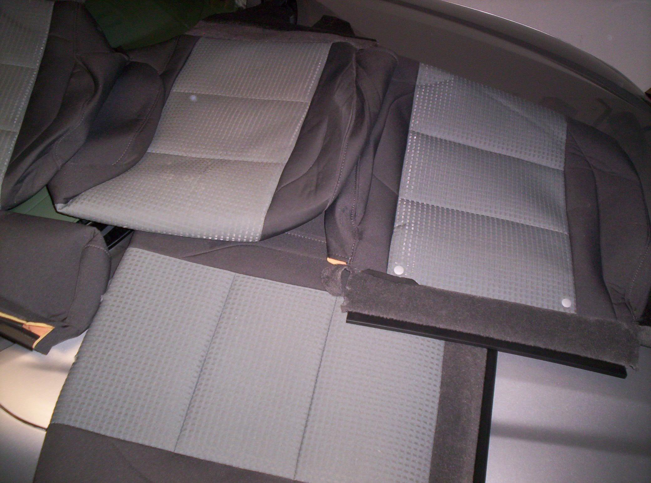 Original OEM Cloth Seat Covers For Titan King Cab W Bench Seats 000 0122