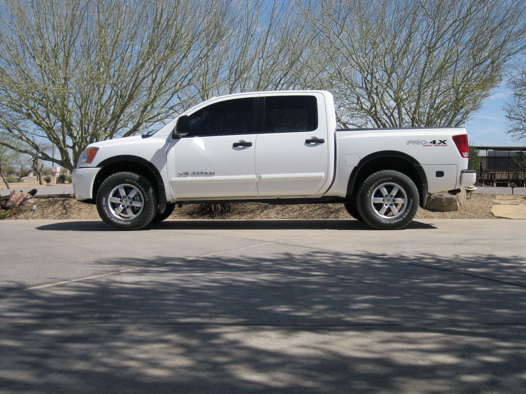 Will My Titan Pro 4x Look Good With A Leveling Kit