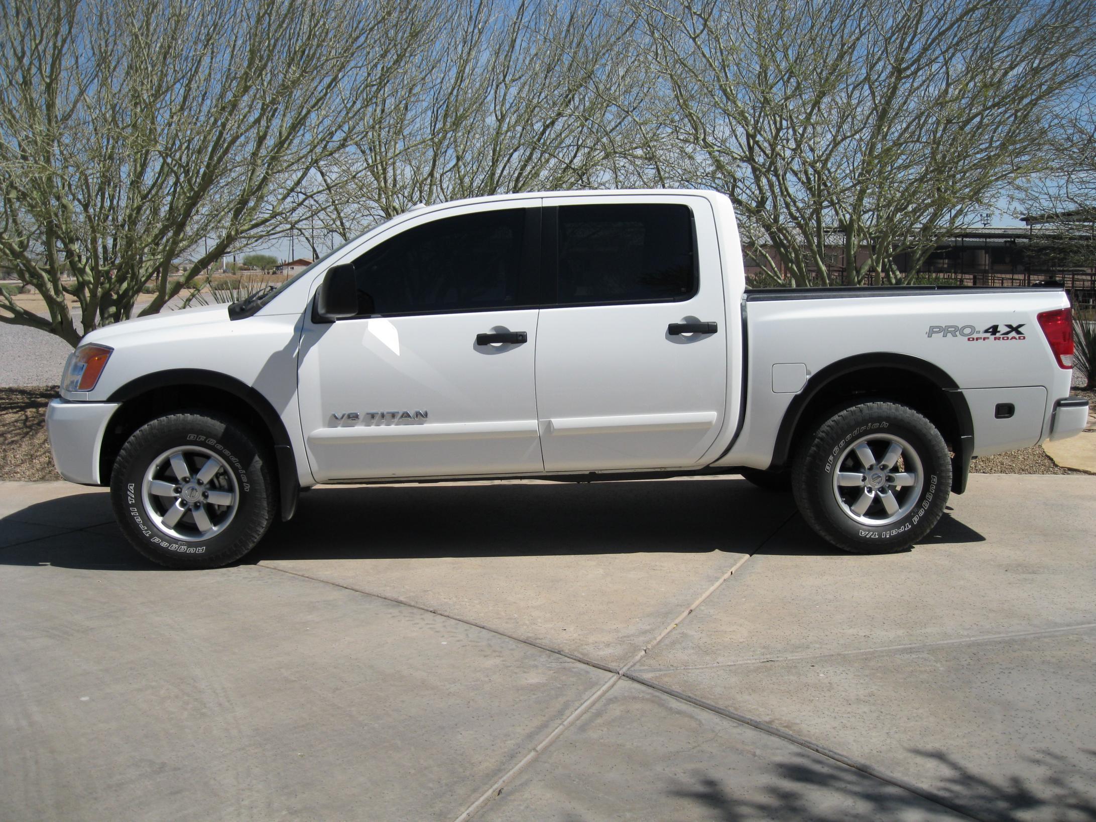 Lift Kit or Leveling Kit? - Nissan Titan Forum