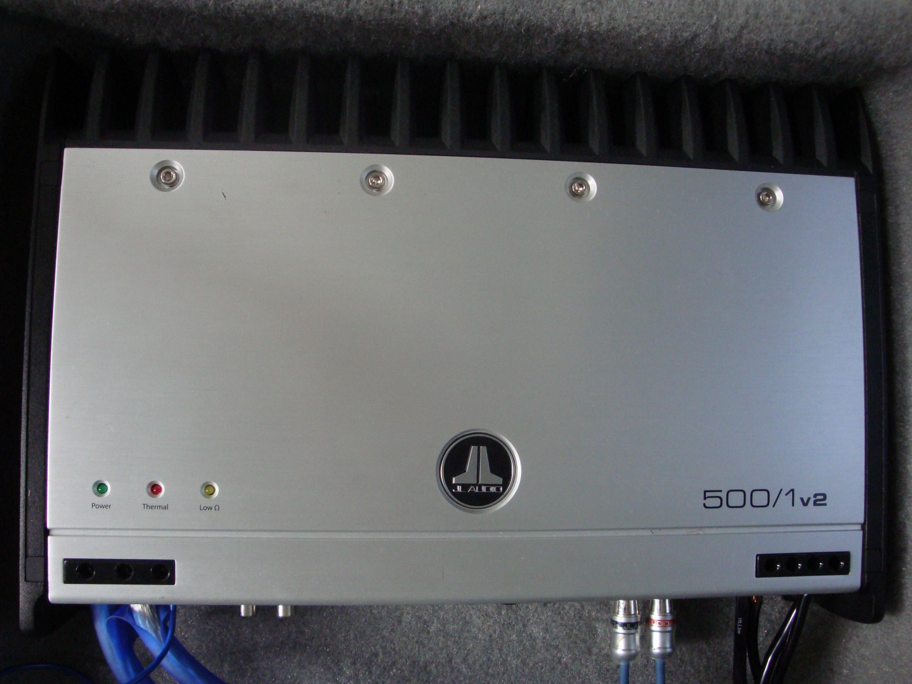 Nissan Titan Forum View Single Post F S Jl Audio500 110w3 Wiring Diagram For Subs Audio 500 1 110w3tech12volt Box 003