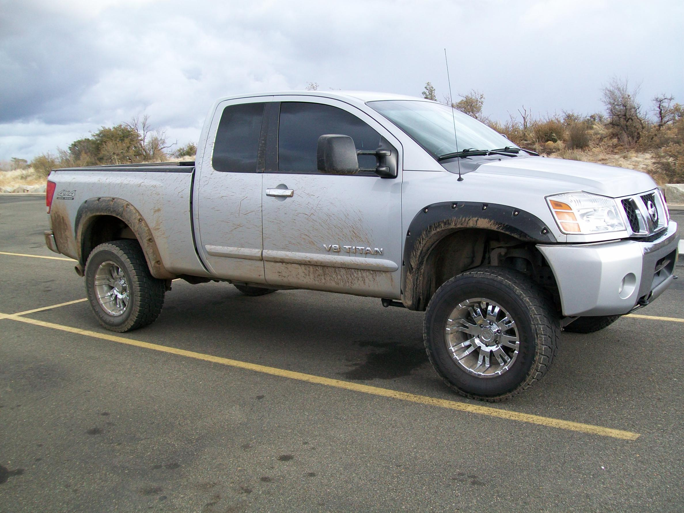 Post pics of lifted king cabs nissan titan forum 010g post pics of lifted king cabs vanachro Images
