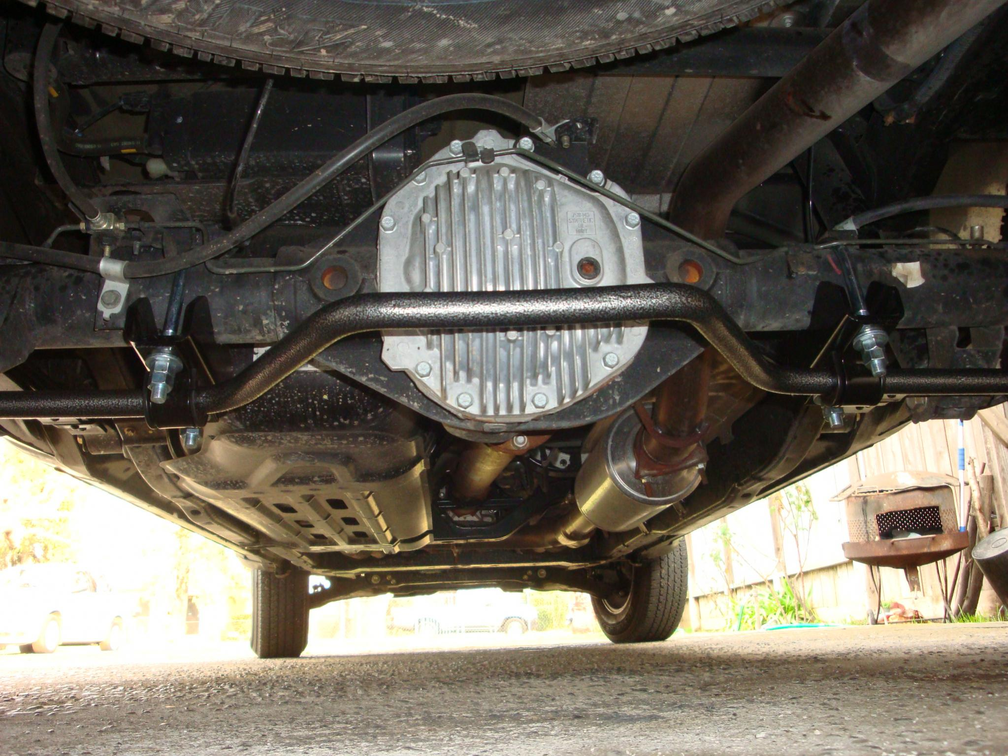 Rear sway bar install nissan titan forum rear sway bar install 006g vanachro Images