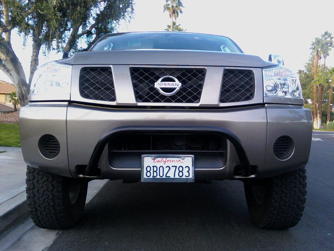 """Where Is The Nissan Titan Made >> Home-made """"bullbar"""" - Nissan Titan Forum"""