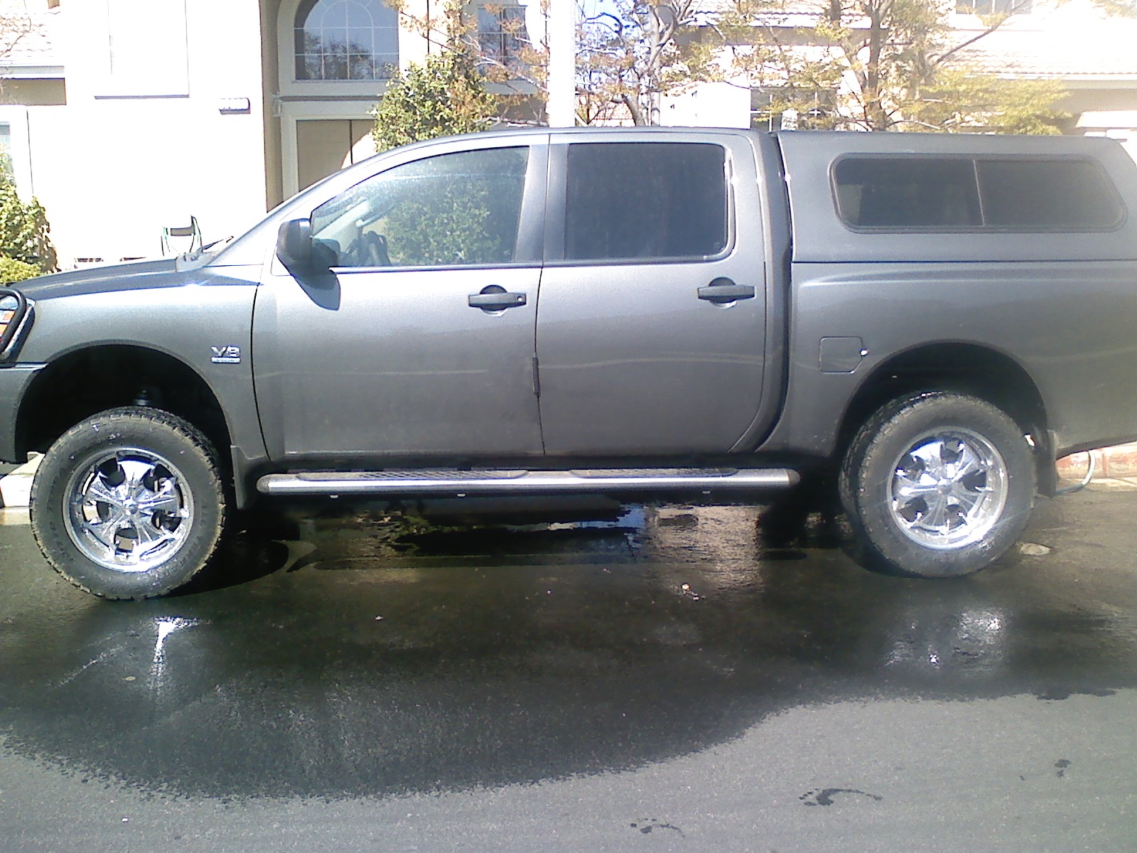 FOR SALE: camper shell and rims | Nissan Titan Forum