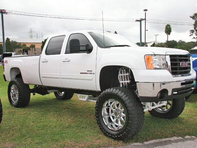 Lifted GMC Trucks