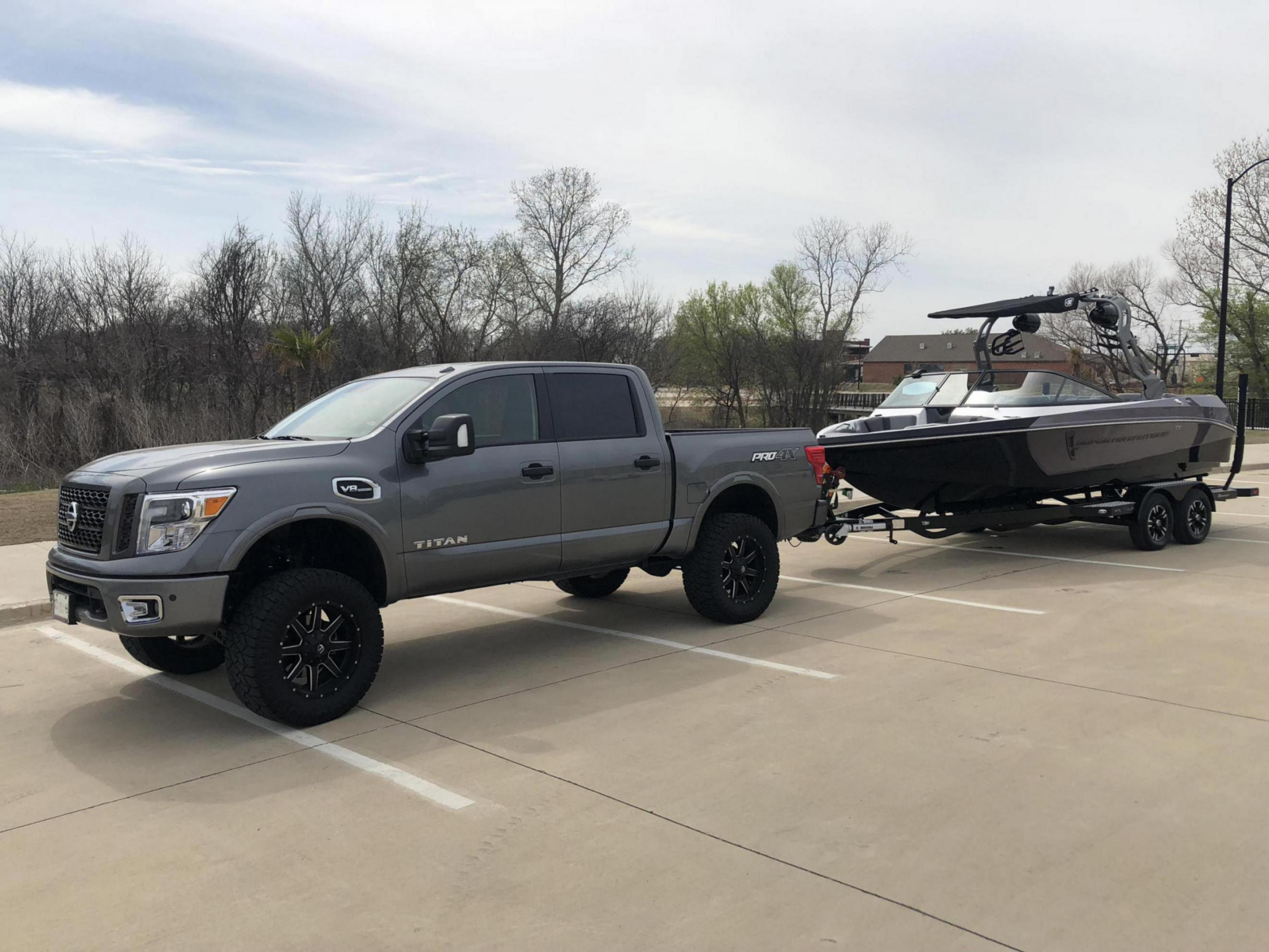 My New 2017 Pro 4x With 6 Quot Rc Lift Nissan Titan Forum