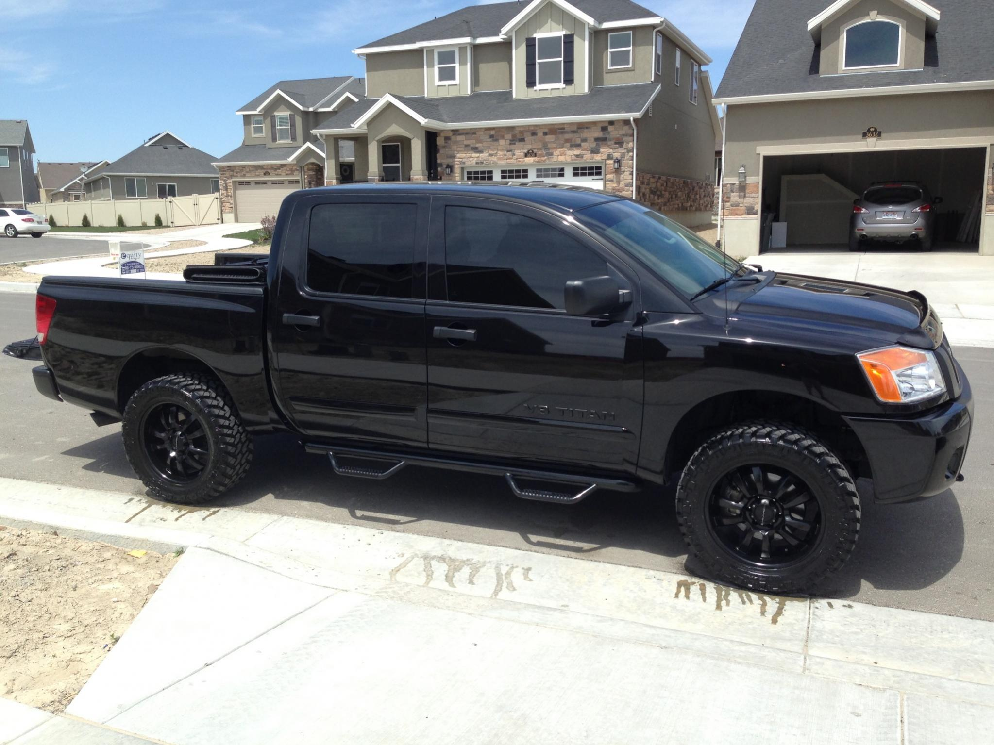 Post your Blacked Out Titan pics Here!!!! - Nissan Titan Forum