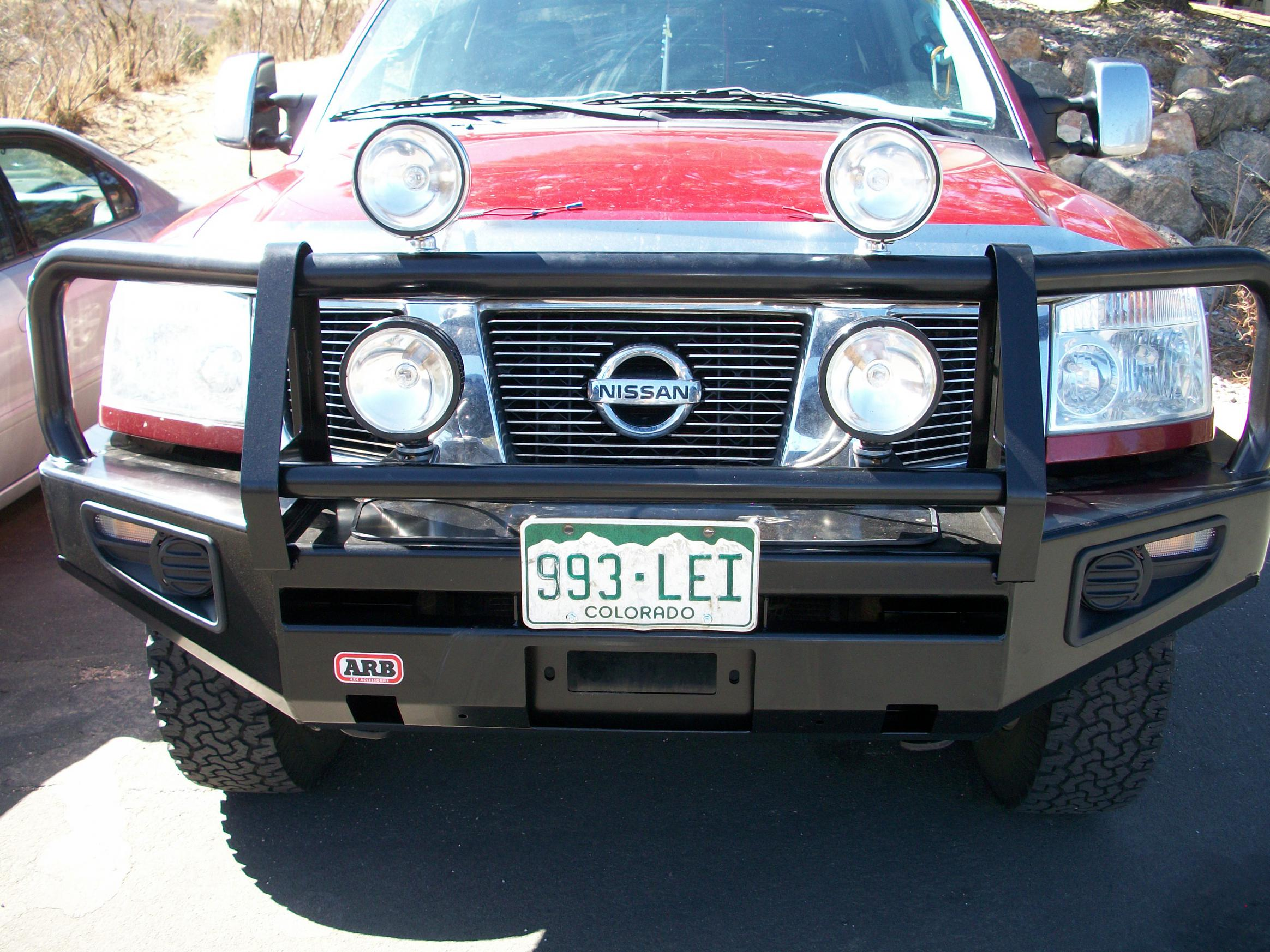 Arb bumper and a nifty roof rack