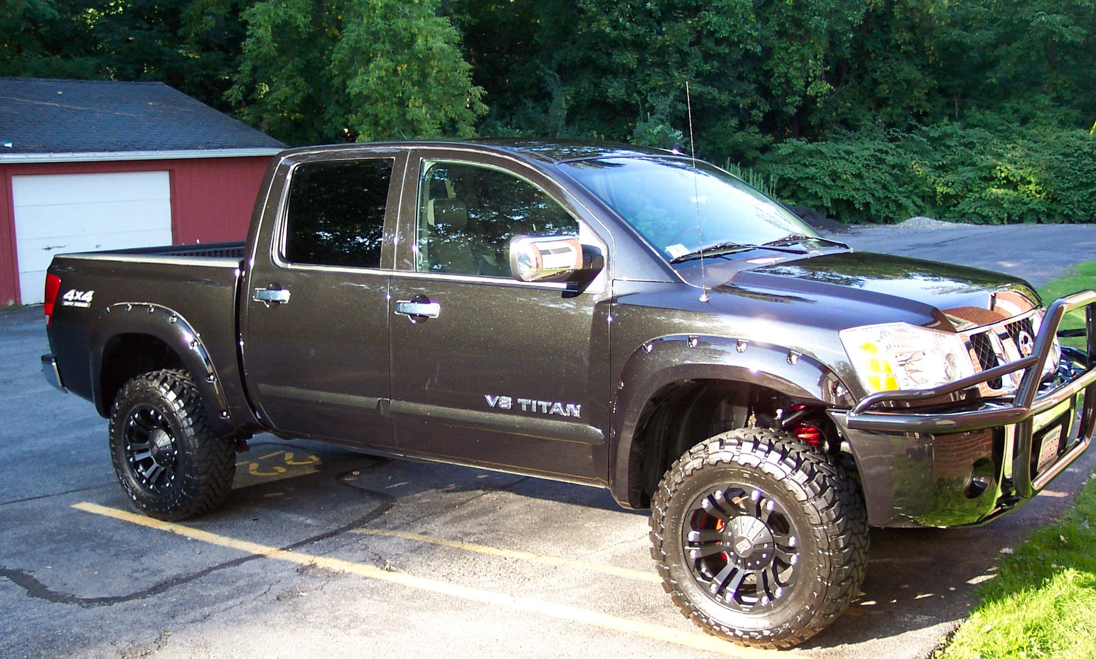"Lifted Nissan Titan >> 2006 Nissan Titan LE CC 4x4 , 4"" PRG lift excellent ..."