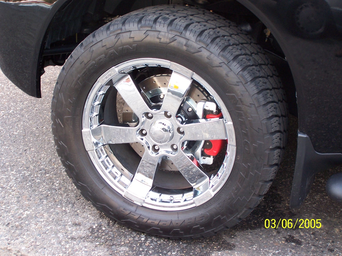18 Inch Tires >> Sizing Tires with Nismo Rims - Nissan Titan Forum
