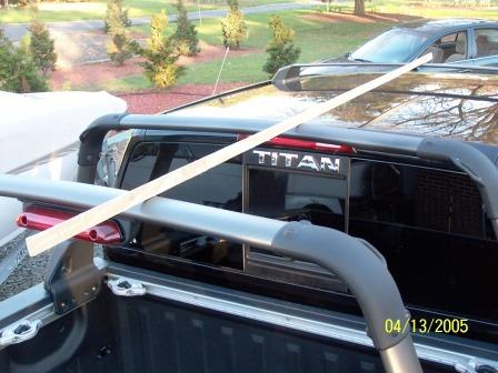 Roof Rack To Titan Crew Cab??? Something Like The Frontier Has.