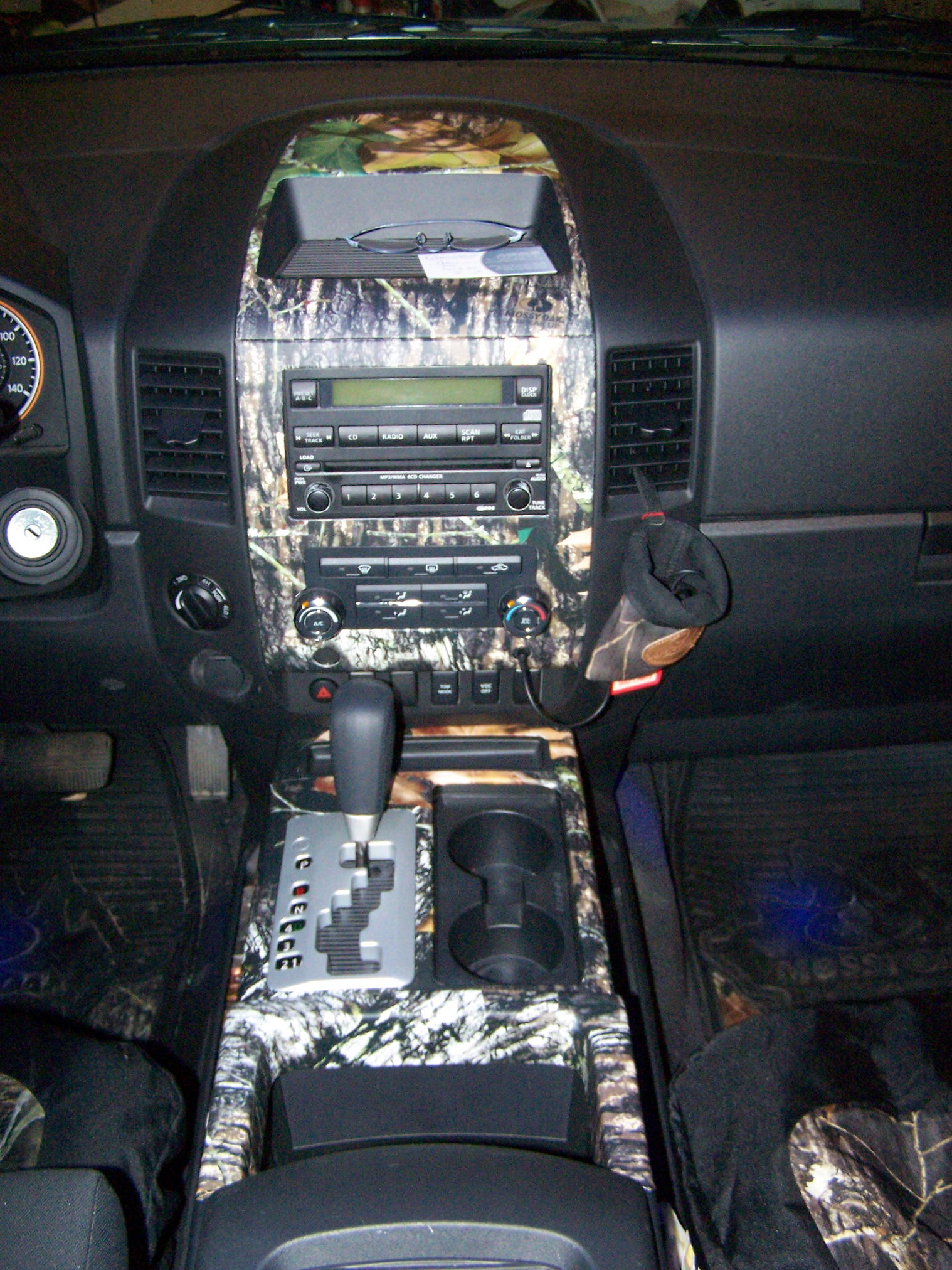 Post Your Vinyl Wrapped Interior Pictures Nissan Titan