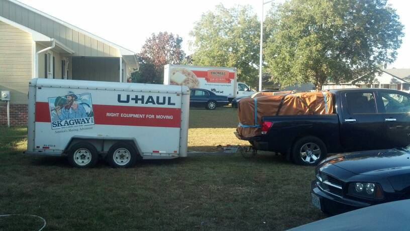 Any Issues Towing A Full Uhaul 6 X12 Trailer W A Non Bt Lifted 37 Quot Tire Beast Nissan