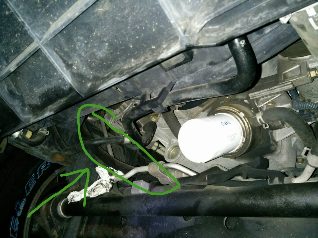 Nissan Titan Power Steering High Pressure Line Hose OEM Nissan 49720-7S00A