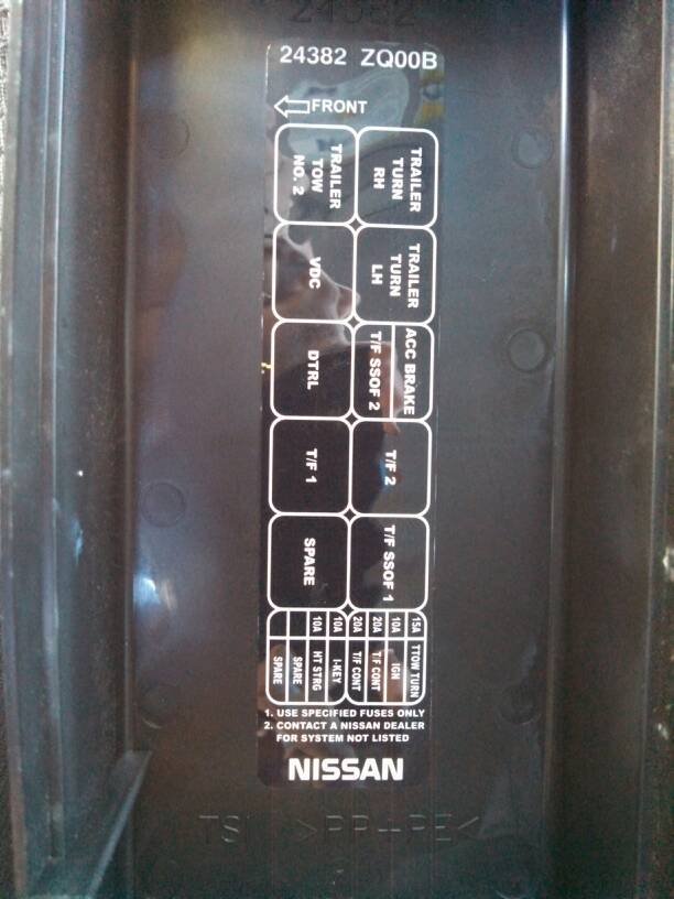 Trailer Tail Lights - No Power - Nissan Titan Forum