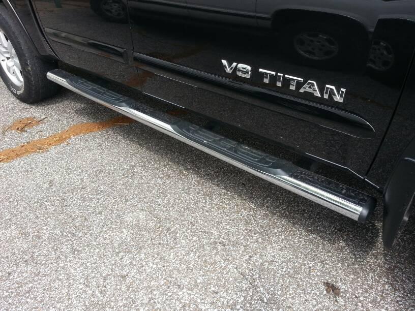 Feeler::: Nissan chrome nurf bars... - Nissan Titan Forum