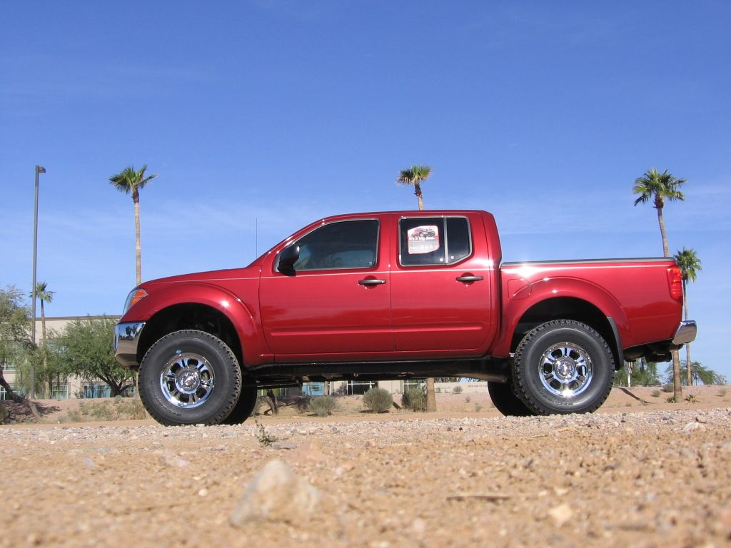 "Xterra 3 Inch Lift >> 6"" Fabtech lift on 2007 4x4 CC Frontier **Not a Titan...but its sick!** - Nissan Titan Forum"