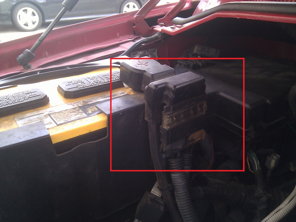 Accidently Put Negative To Positive Nissan Titan Forum Car Fuse Box 2012 06 23 1547