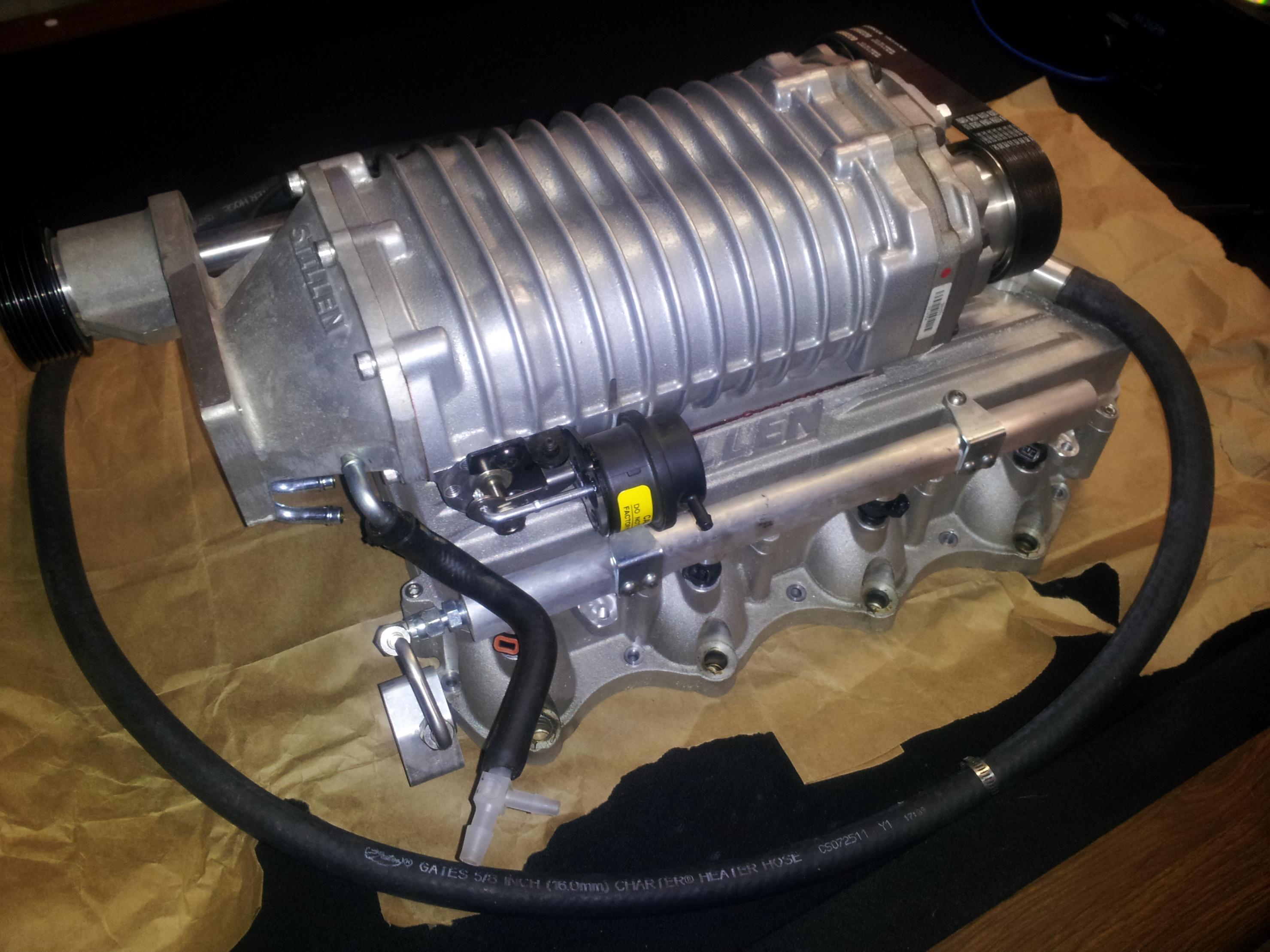 Stillen stage 2 silver supercharger 20120219_203443 jpg