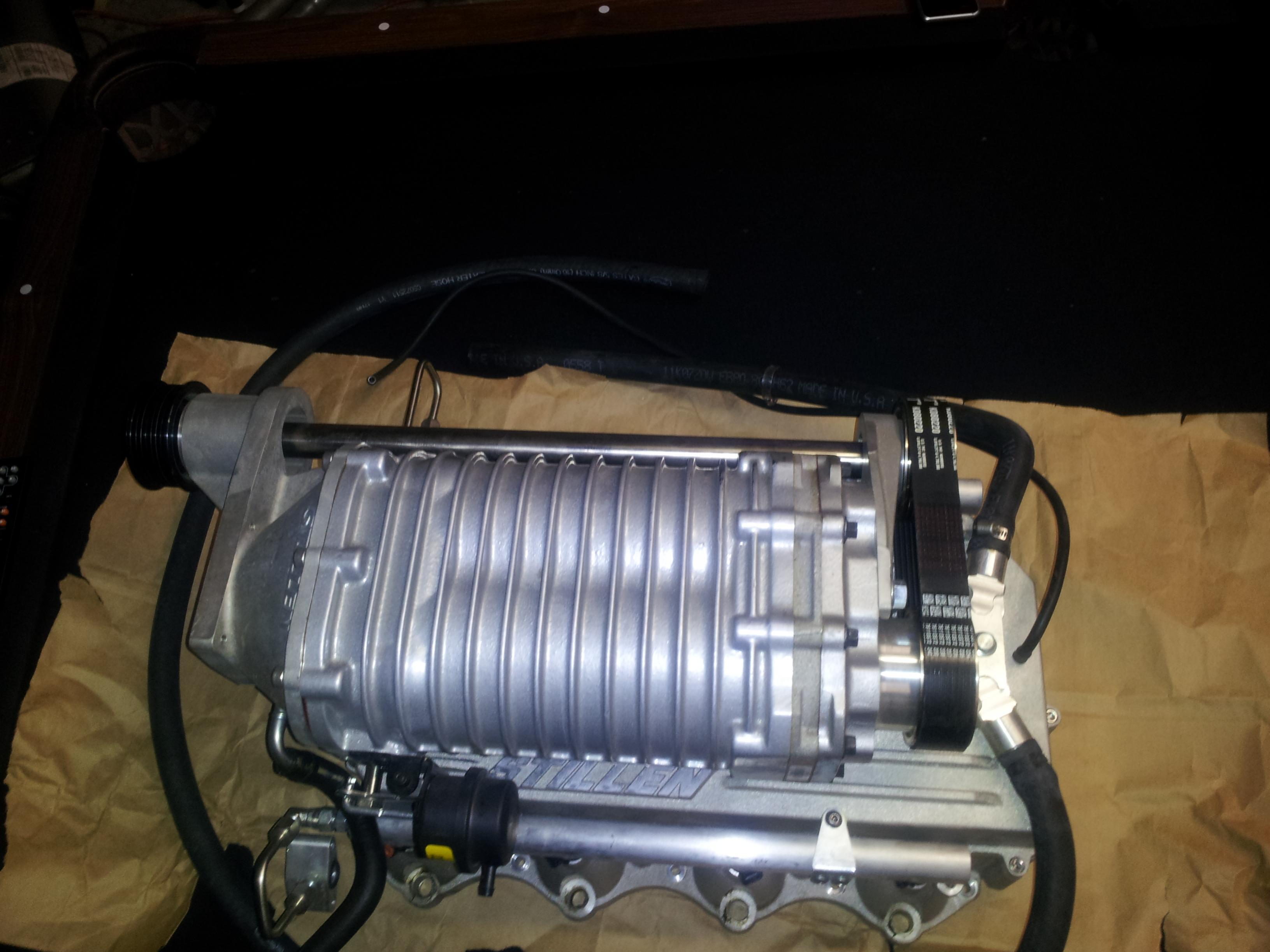 Stillen stage 2 silver supercharger 20120219_203457 jpg
