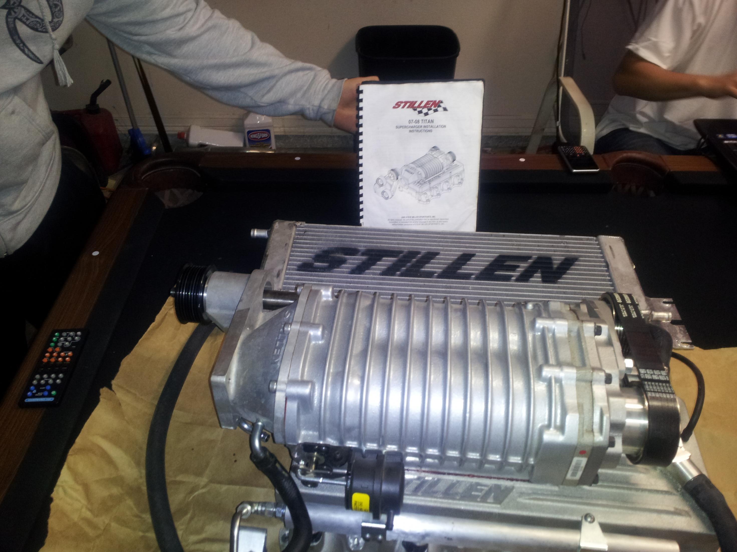 Stillen stage 2 silver supercharger 20120219_203633 jpg