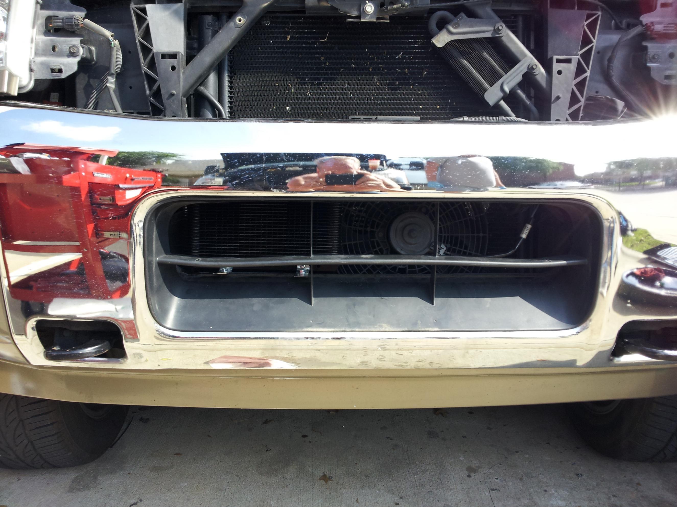 Custom Nissan Titan >> Another Long Tru Cool Trans Cooler Install - Nissan Titan ...