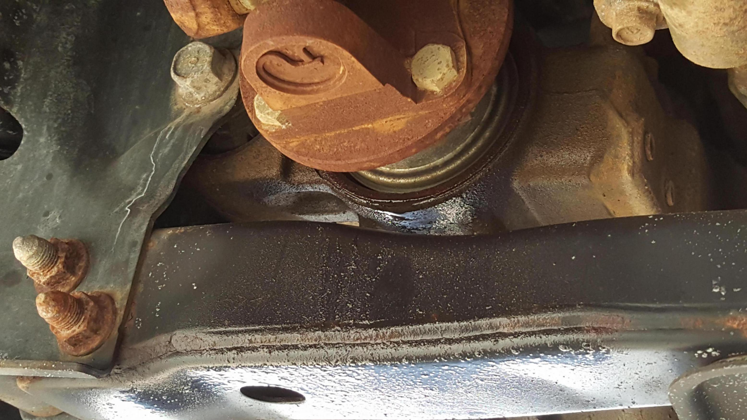 Front Differential Leak Nissan Titan Forum