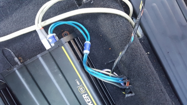 Adding Aftermarket Amps and Subwoofers | Nissan an Forum on