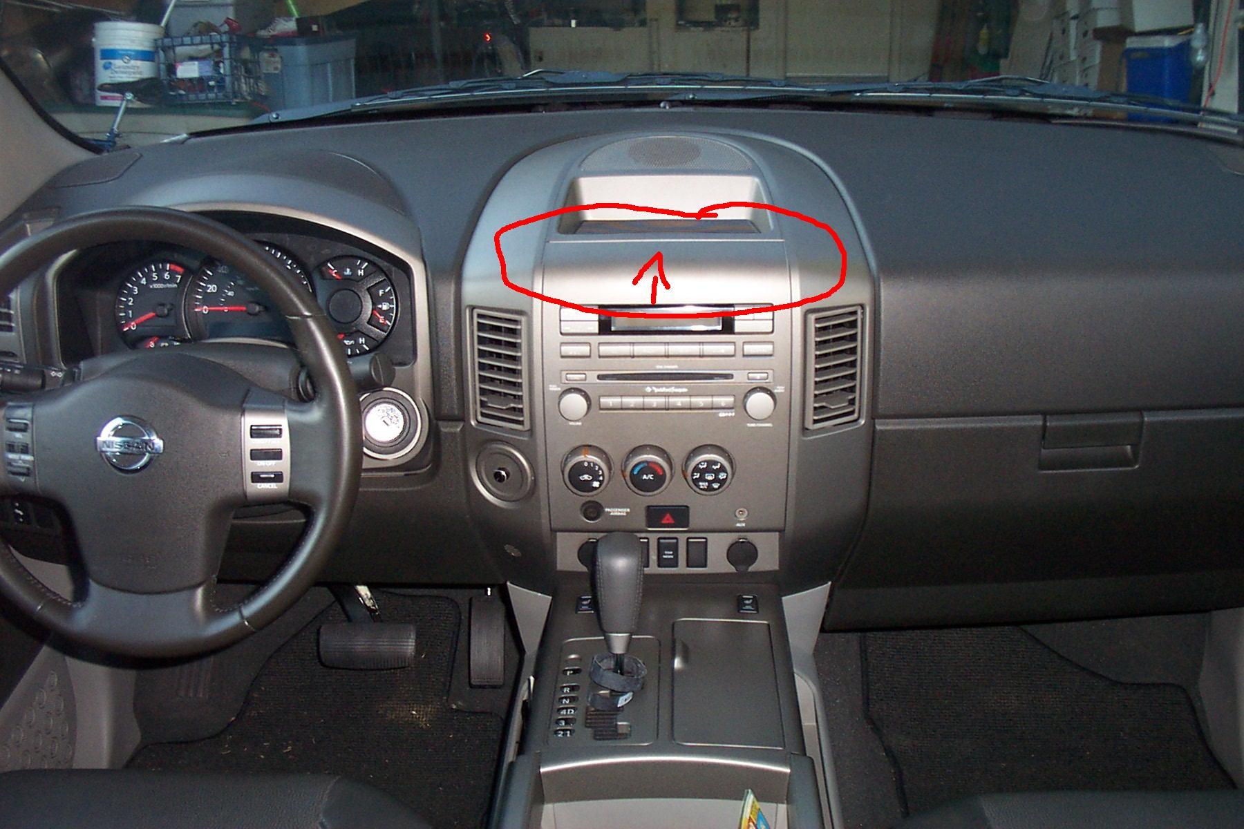 Nissan Armada 2006 Interior >> how to remove dash? - Nissan Titan Forum