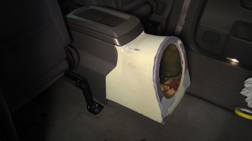silverado sub box build 1