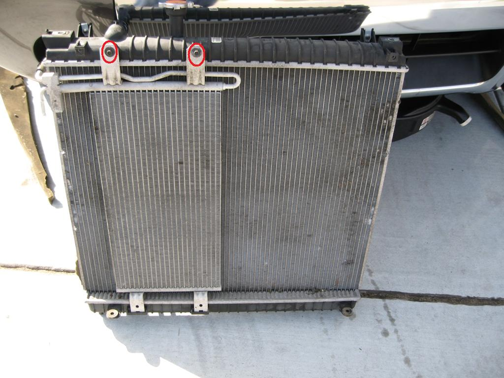 Radiator Removal Lots Of Pics And Step By Step Nissan