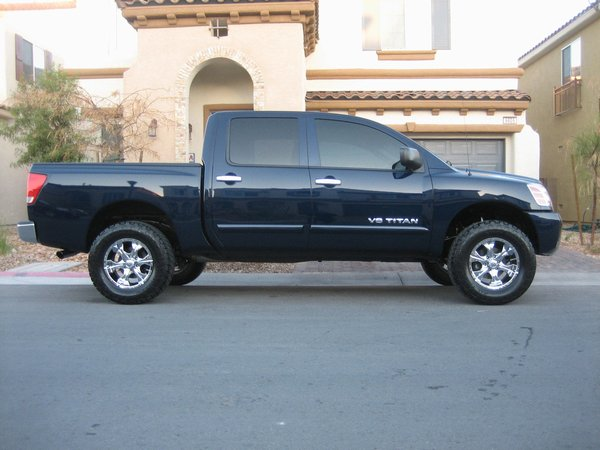 Tire size and lift height nissan titan forum