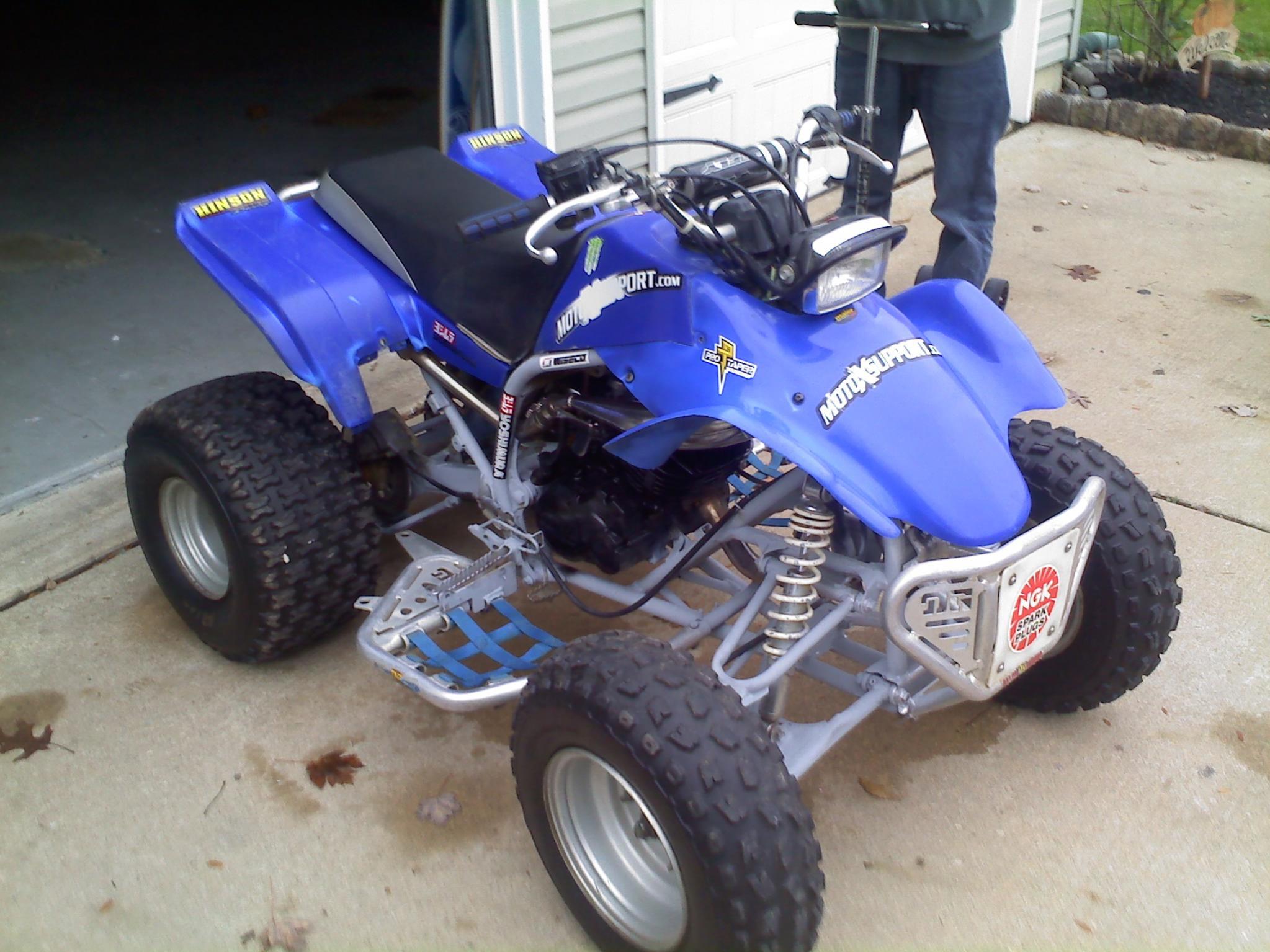 Yamaha Blaster Race Plastics