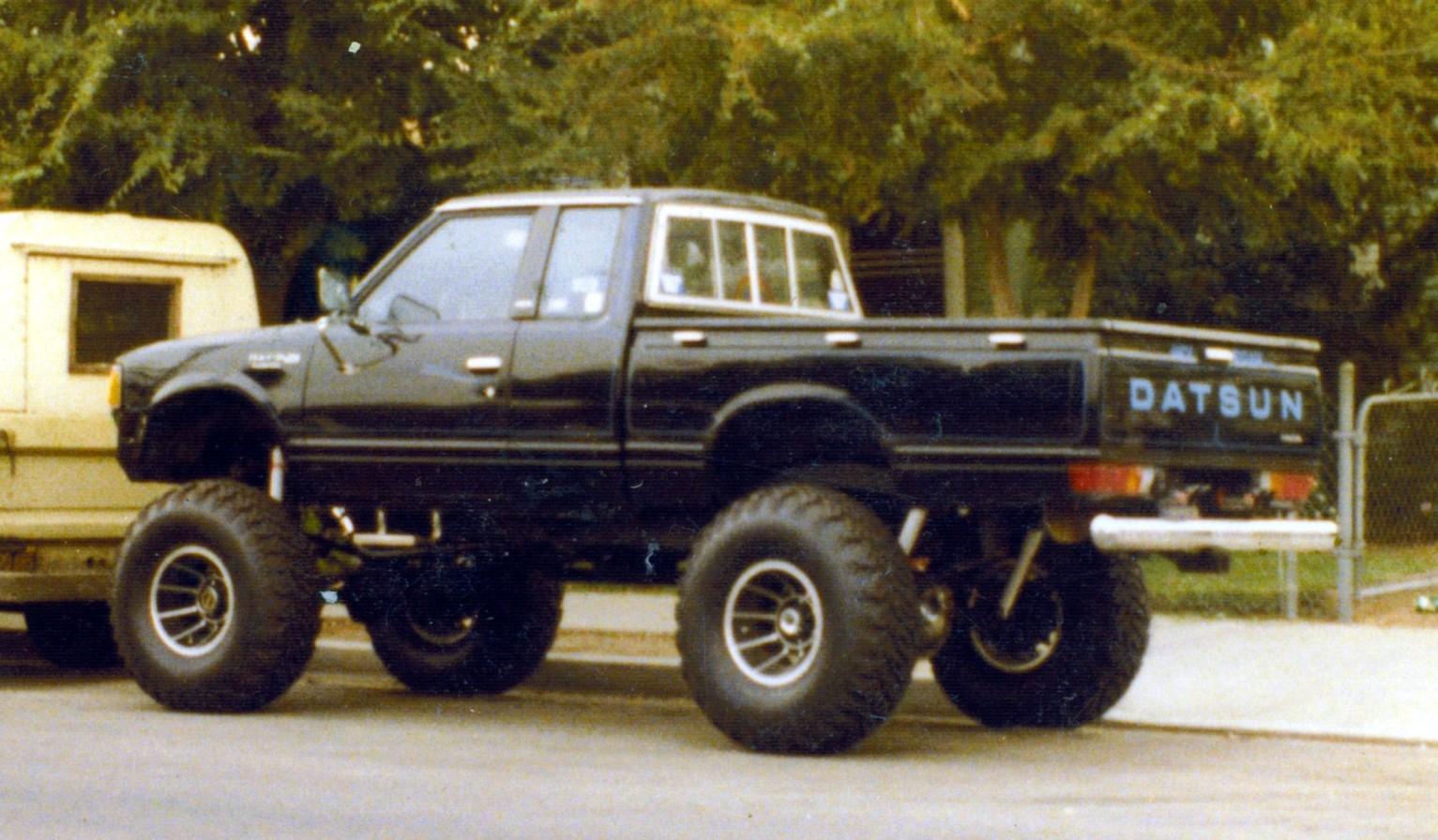 D Throw My Stocks Frontier X Kc on Dodge Dakota 4x4