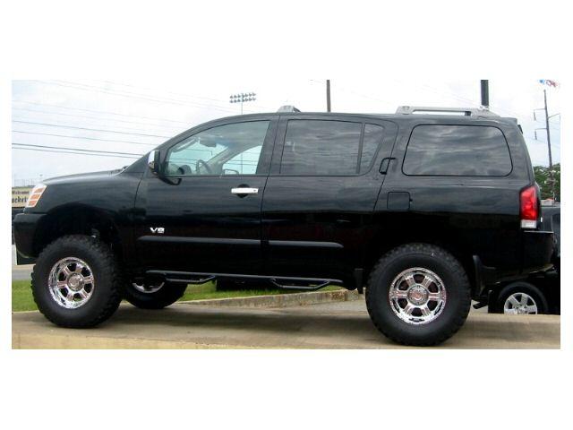 San Diego Honda >> Lift pics for the Armada guys - Nissan Titan Forum