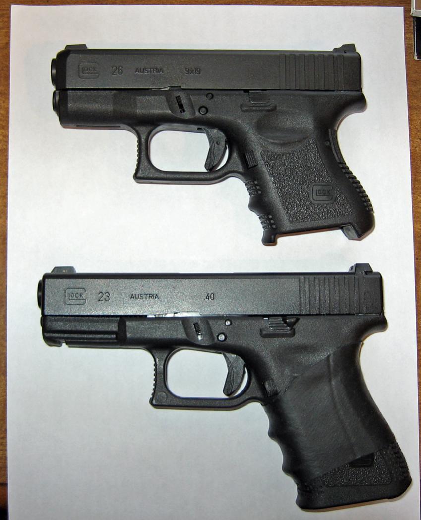 Glock 23 vs. xd 40 compact - Page 2 - Nissan Titan Forum