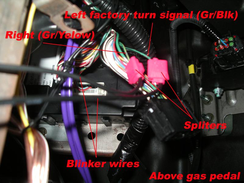 wiring harness in big tow mirrors nissan titan forum wiring harness in big tow mirrors above gas pedal 2 jpg