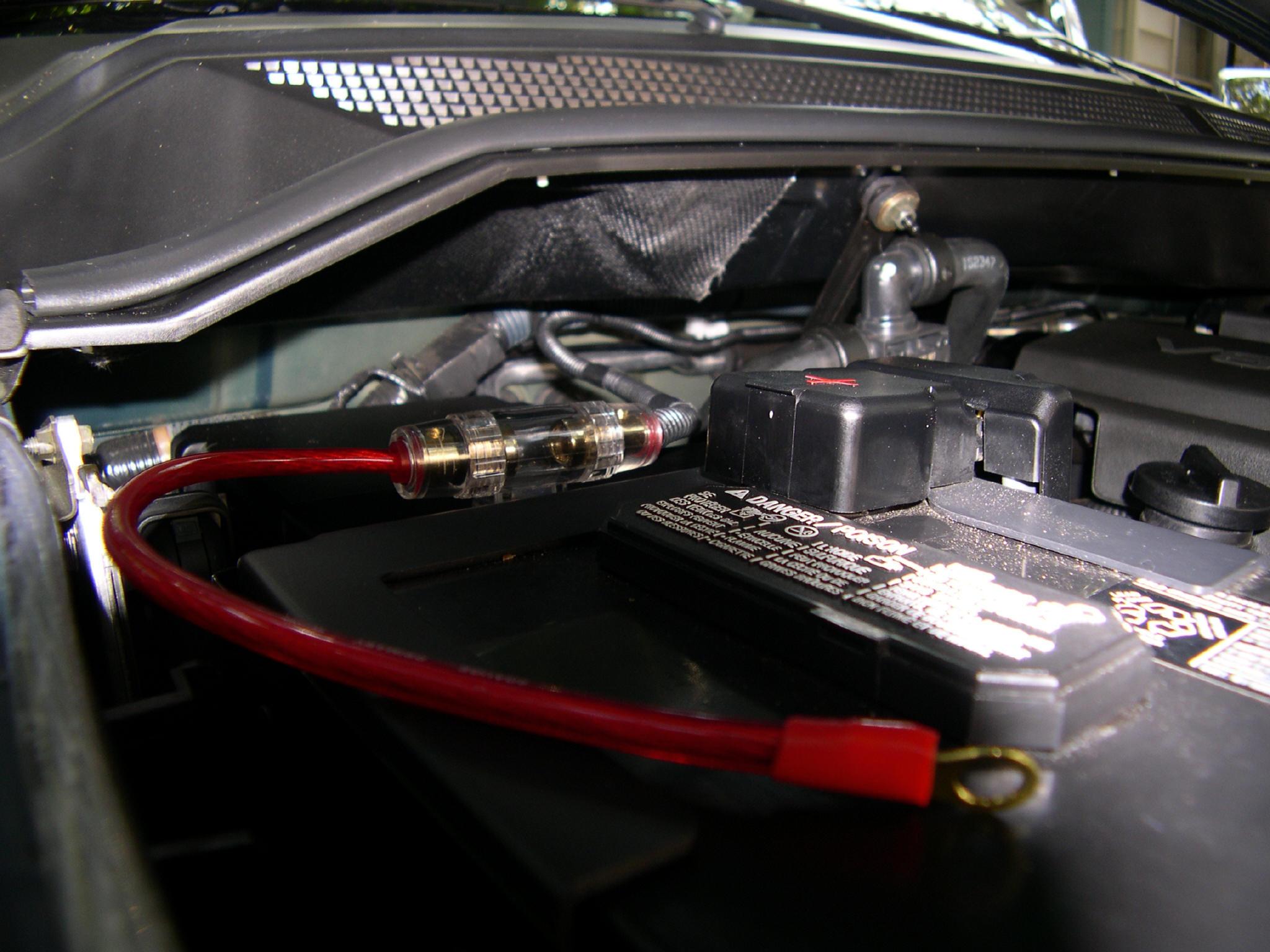 My Home Made Stealth Kc Box Nissan Titan Forum Jl Amp Wiring Schematics 10w3v2 20