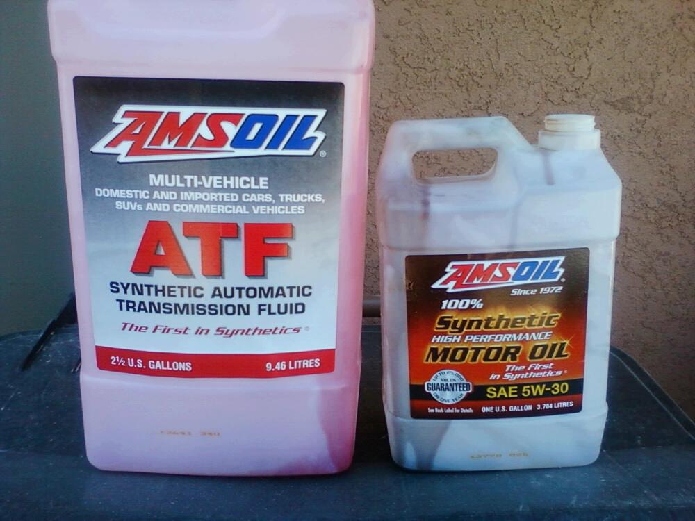 Elegant Writeup: DIY Transmission Fluid Change Amsoil