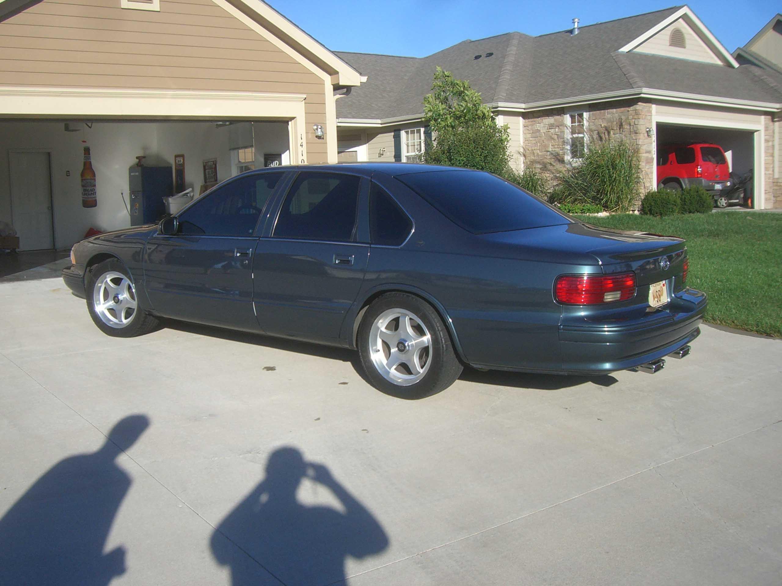 I have a 1995 impala ss trades back angle