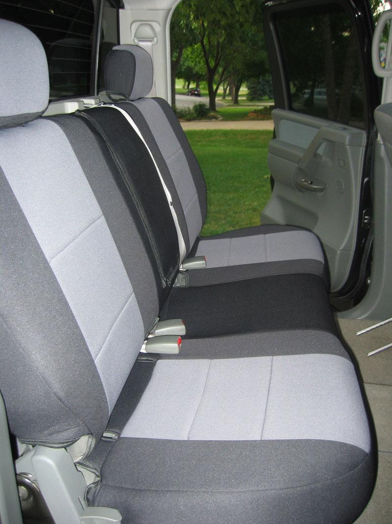 Installed coverking neoprene seat covers backseatafter1 jpg