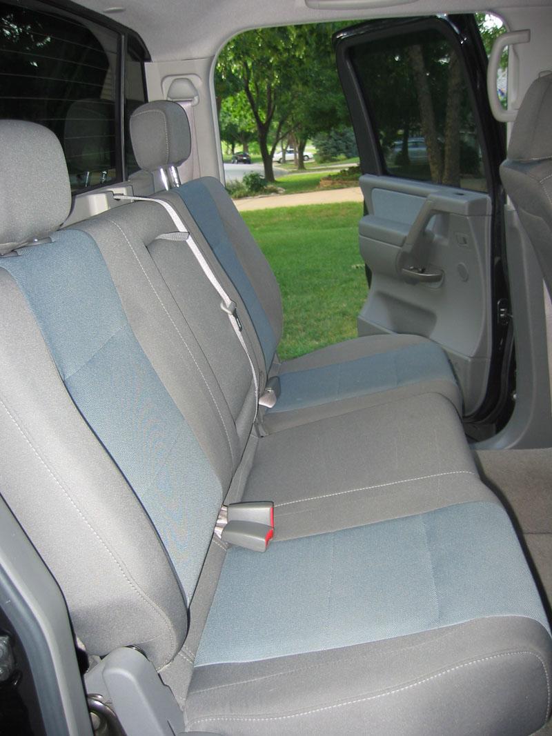 Installed coverking neoprene seat covers backseatbefore1 jpg