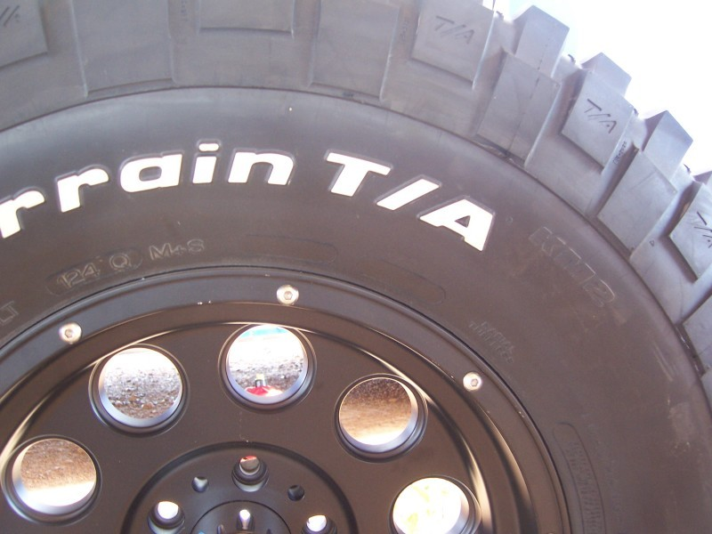 New Bf Goodrich Mud Terrain Tire Km2 Nissan Titan Forum