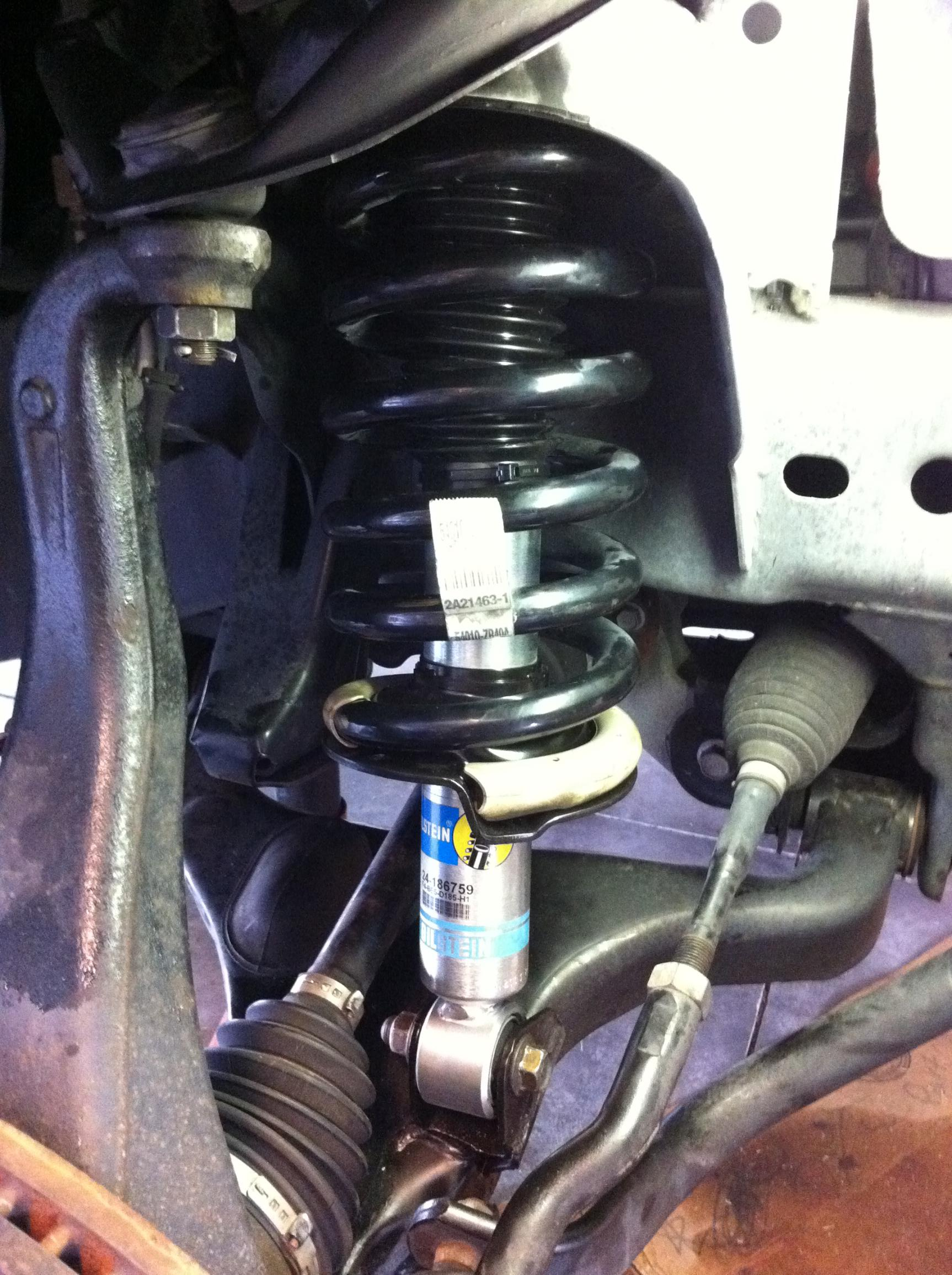5100 Install And Level On 2008 4x4 Crew Nissan Titan Forum