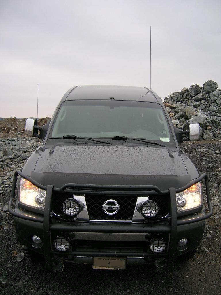 San Bernardino Nissan >> Mounting off road lights. - Nissan Titan Forum