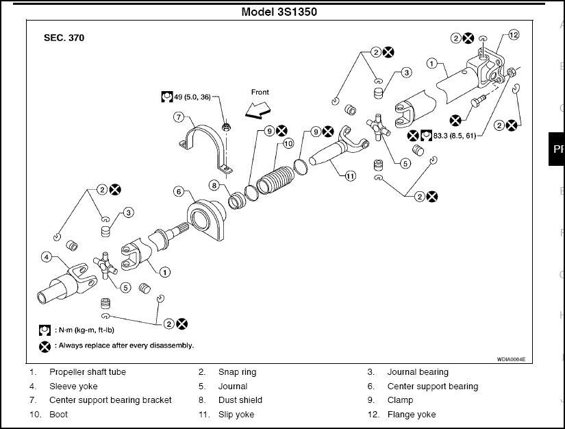 driveshaft bolt torque