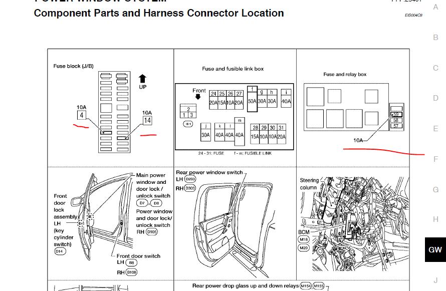 151509d1355614446 fuse controls power windows capture which fuse controls the power windows? nissan titan forum 2015 nissan rogue fuse box diagram at panicattacktreatment.co