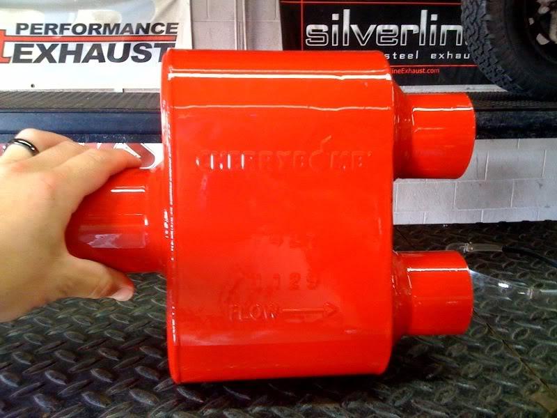 Cherry Bomb Quot Extreme Quot Single Chamber Muffler Nissan
