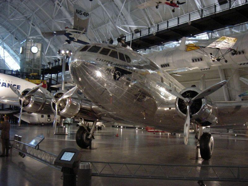 Titans at VA National Air & Space Museum meet!!!!-clipper-flying-cloud-1.jpg