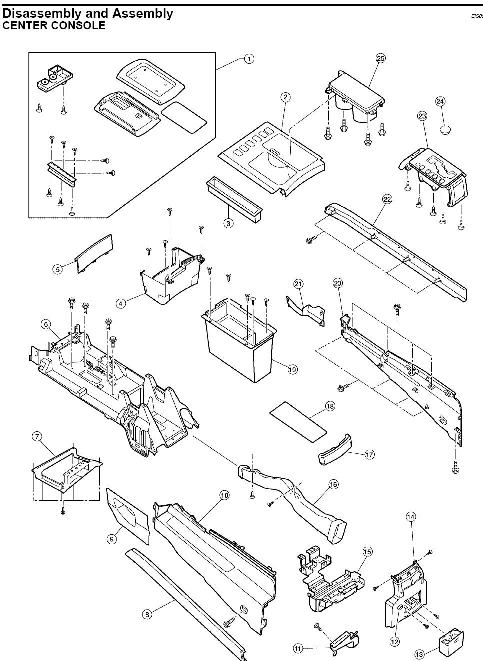 Nissan titan interior parts diagram - Nissan titan interior accessories ...